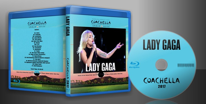 Lady Gaga - 2017 - Coachella - HD-Webcast > Blu-ray