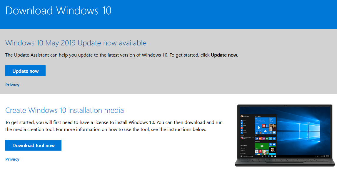 How to upgrade to the Windows 10 May 2019 Update โชคดีจ้า กดเบาๆ