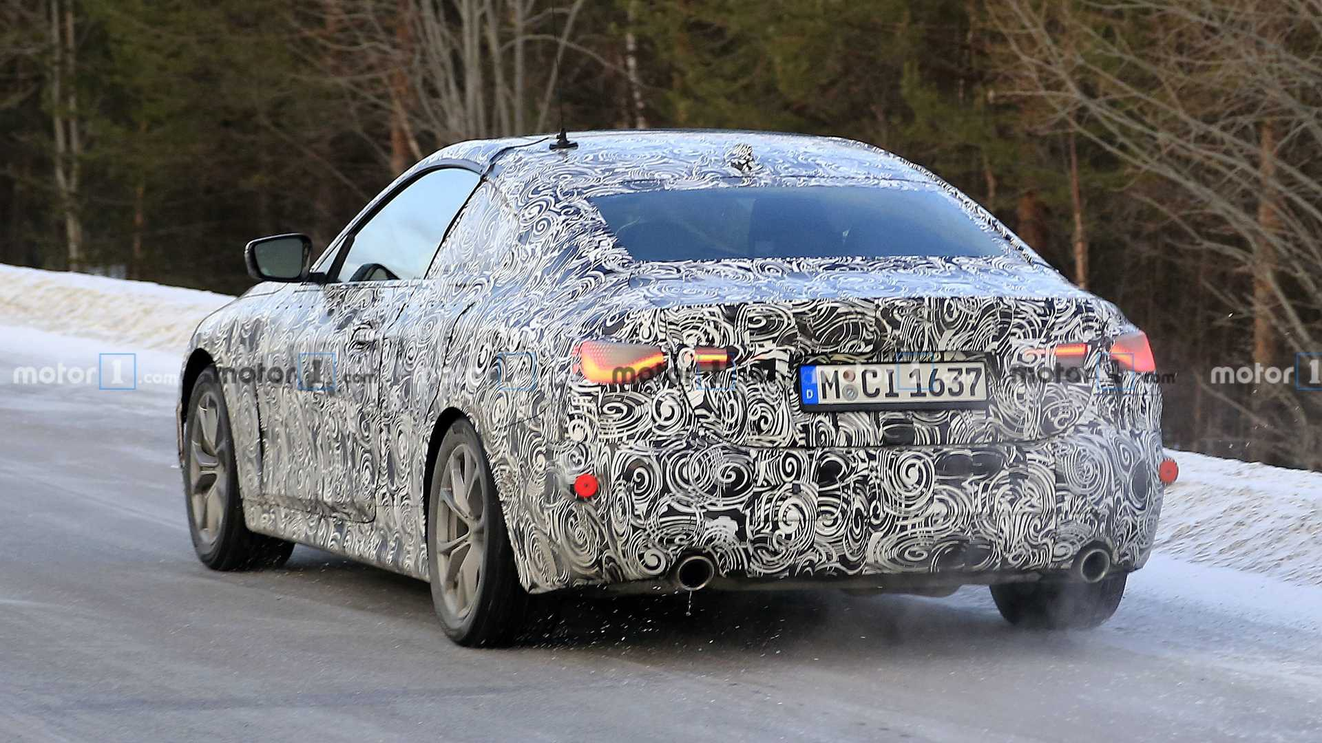 2021 bmw 4 series spy photo (1)
