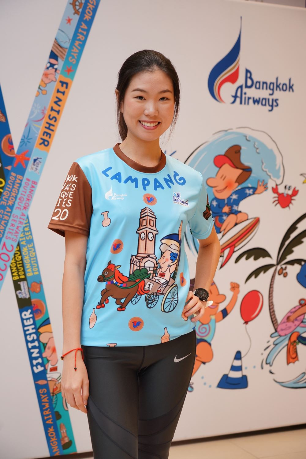 """14 Bangkok Airways launches """"Bangkok Airways Boutique Series 2020"""" The 6 running races at 6 boutique"""