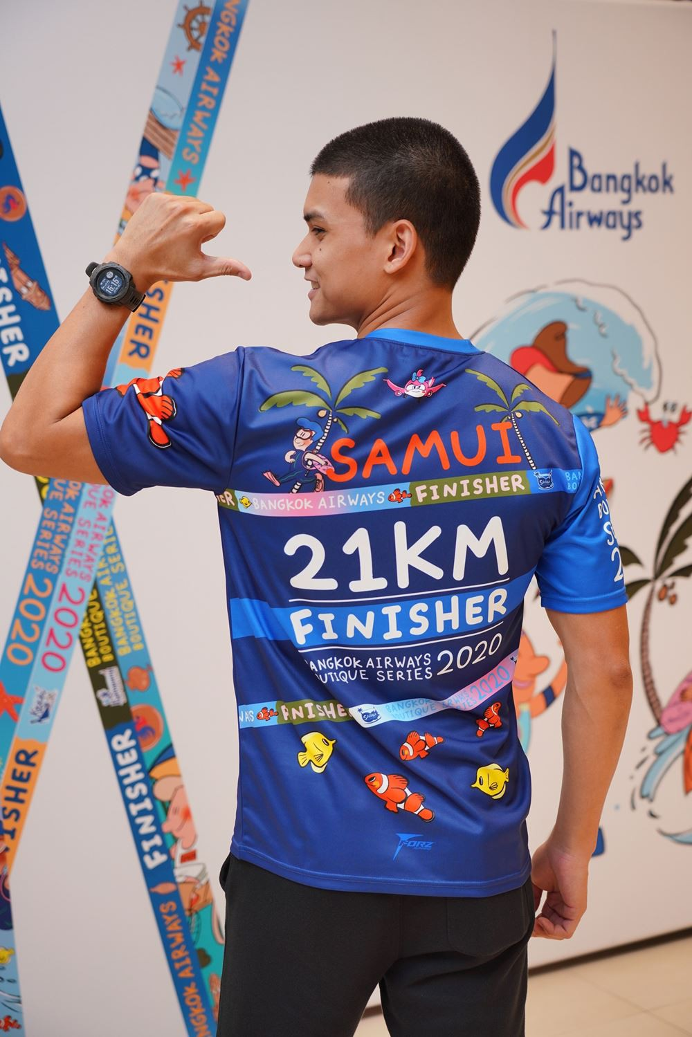 """11 Bangkok Airways launches """"Bangkok Airways Boutique Series 2020"""" The 6 running races at 6 boutique"""