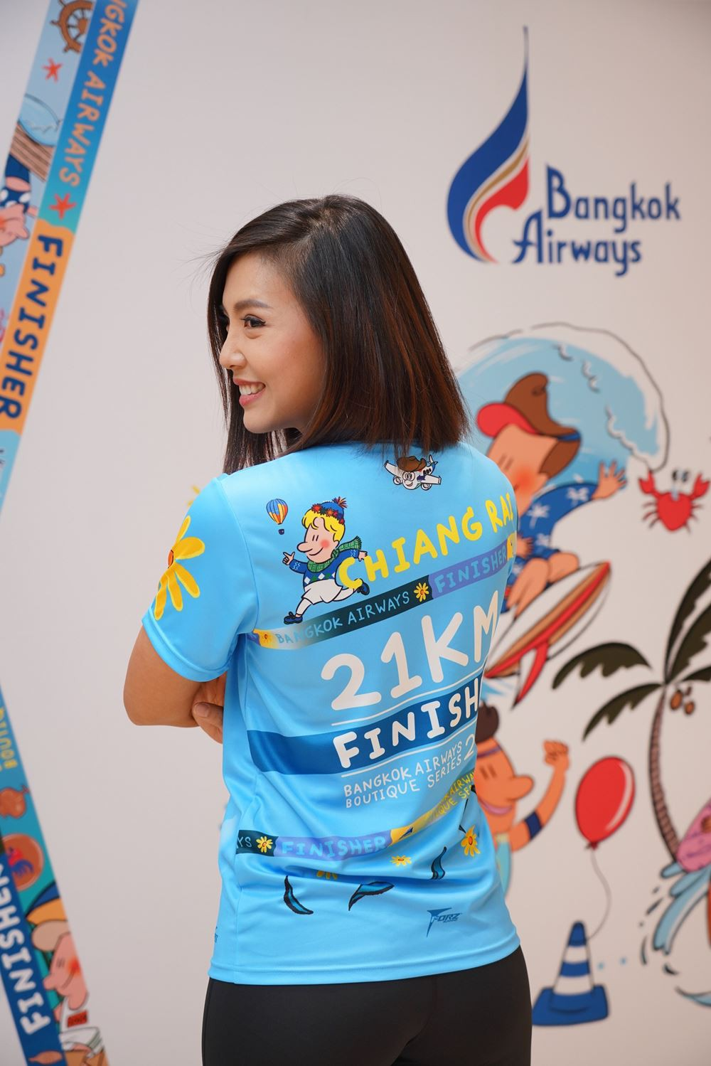 """13 Bangkok Airways launches """"Bangkok Airways Boutique Series 2020"""" The 6 running races at 6 boutique"""