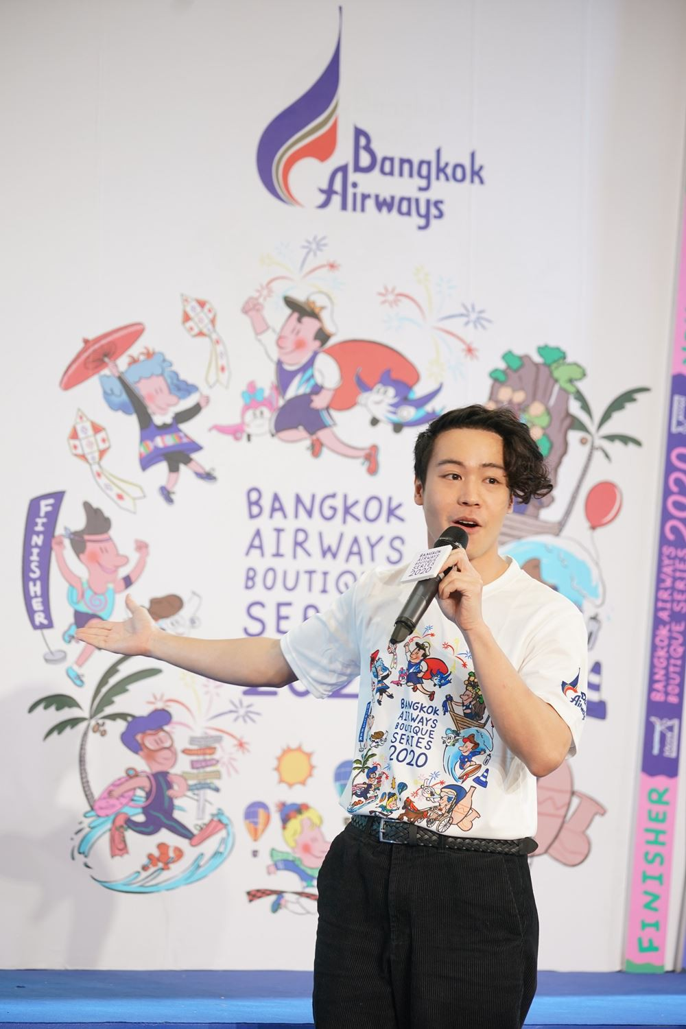"""8 Bangkok Airways launches """"Bangkok Airways Boutique Series 2020"""" The 6 running races at 6 boutique"""