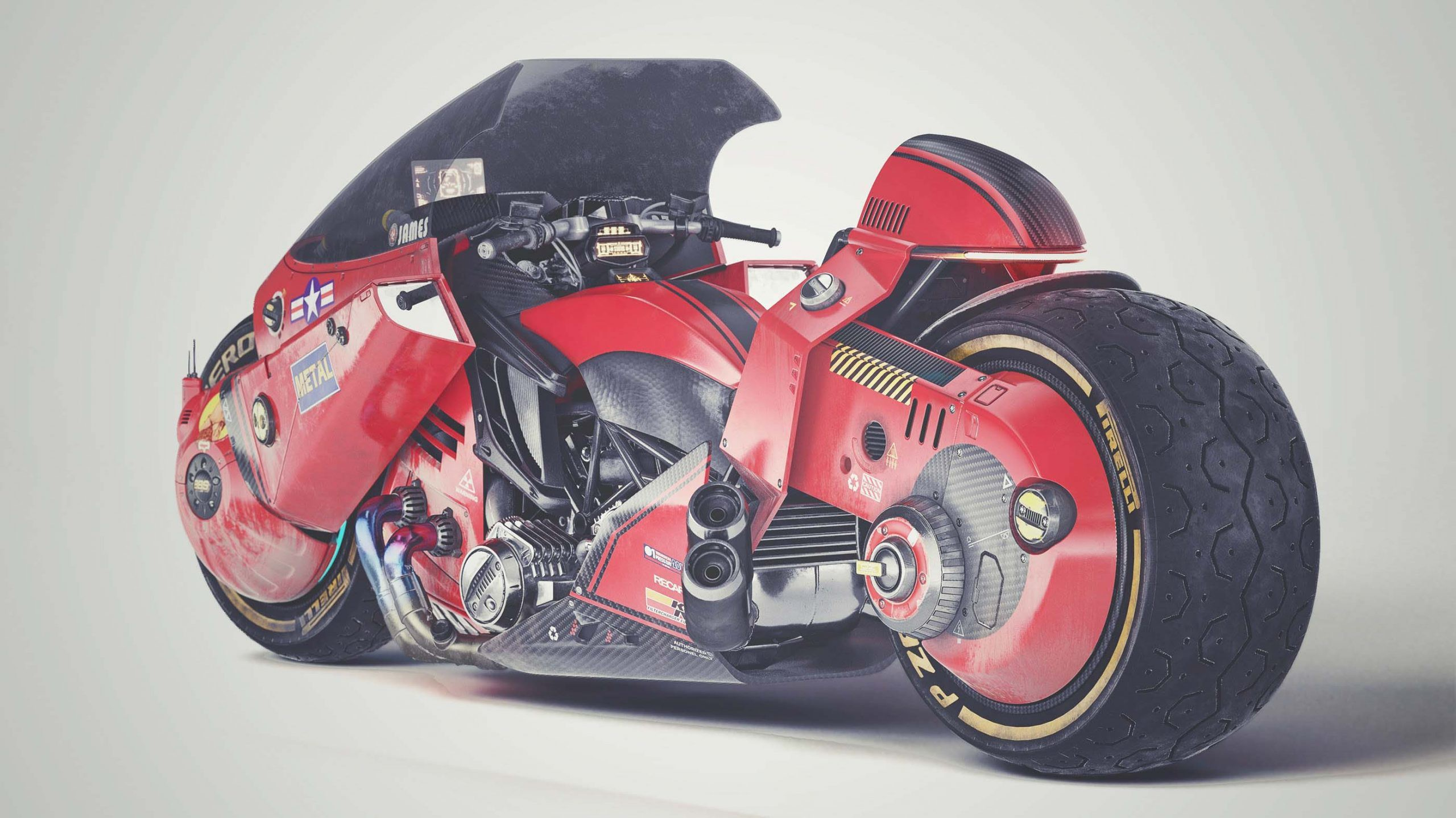 Akira motorcycle concept James Qiu 01 scaled