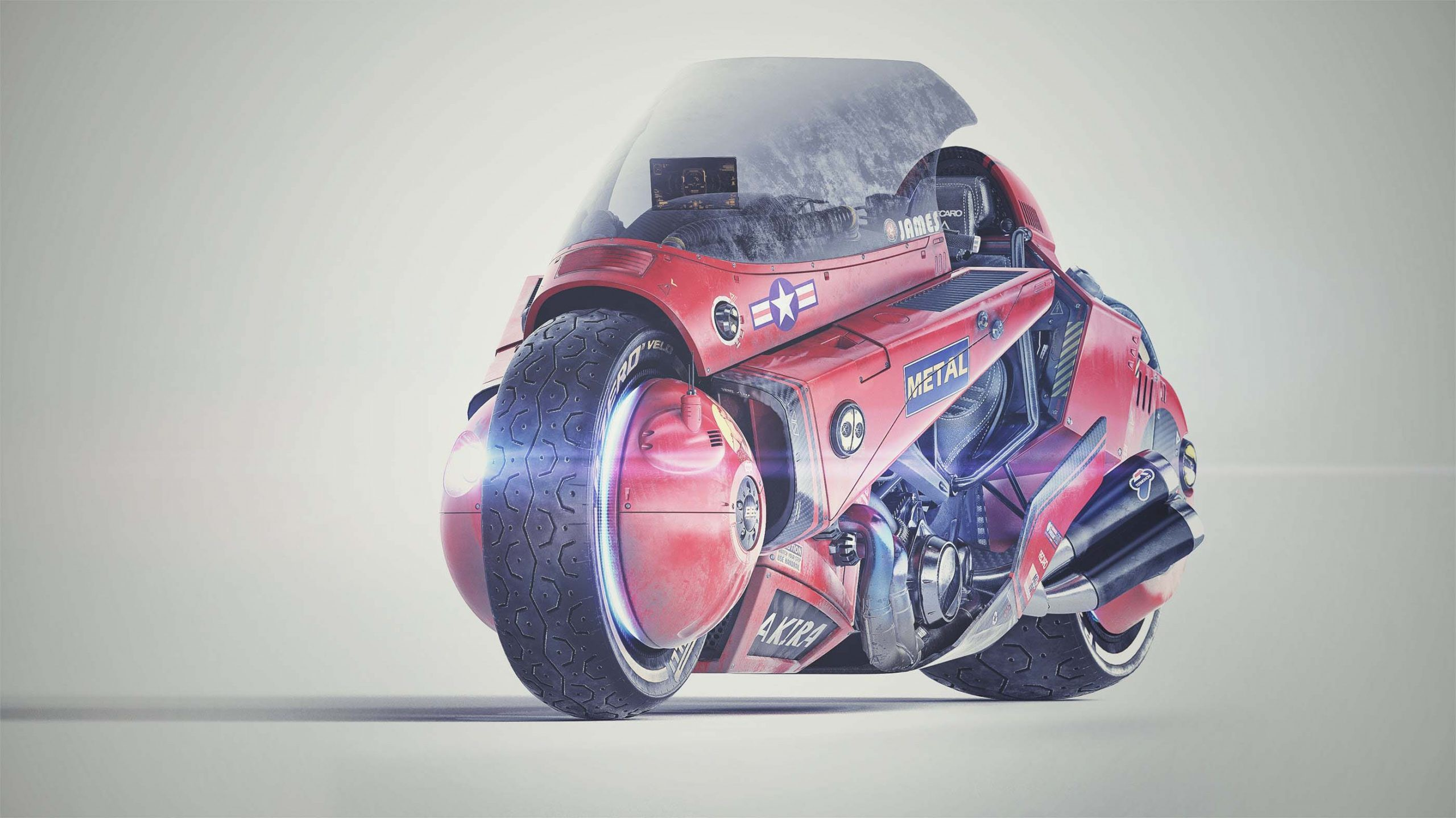 Akira motorcycle concept James Qiu 02 scaled