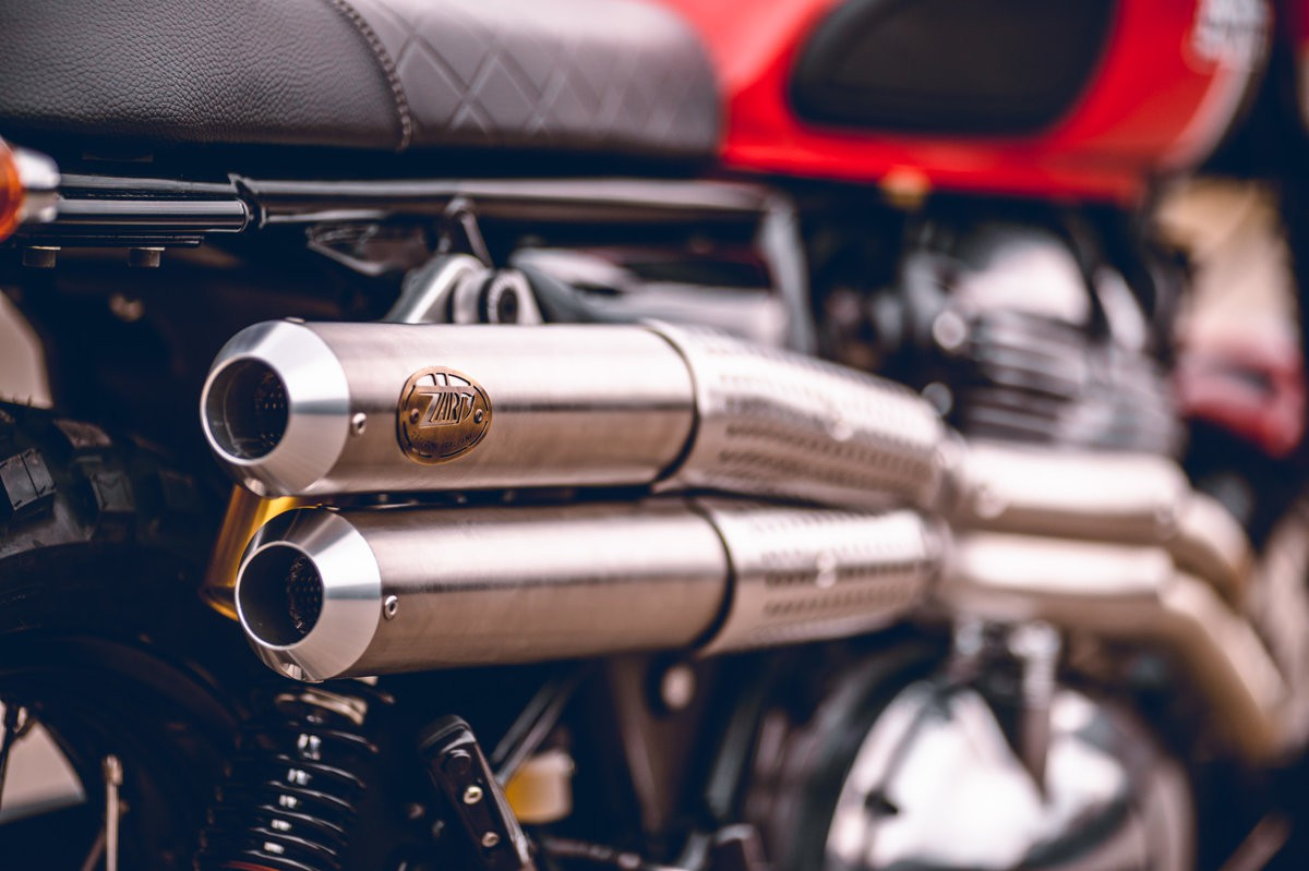 royal enfield interceptor 650 scrambler exhaust f56d