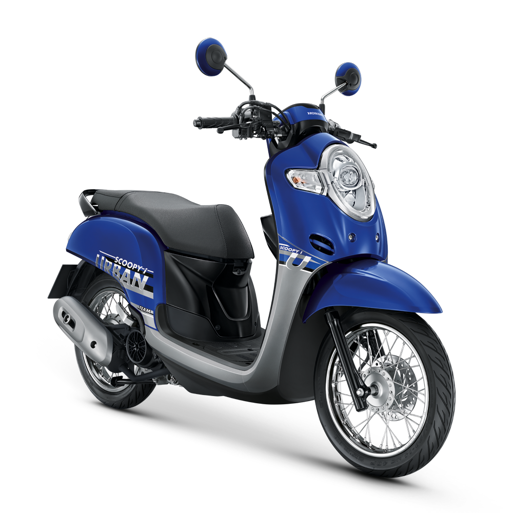 Honda Scoopy i Styling Blue Urban Hires