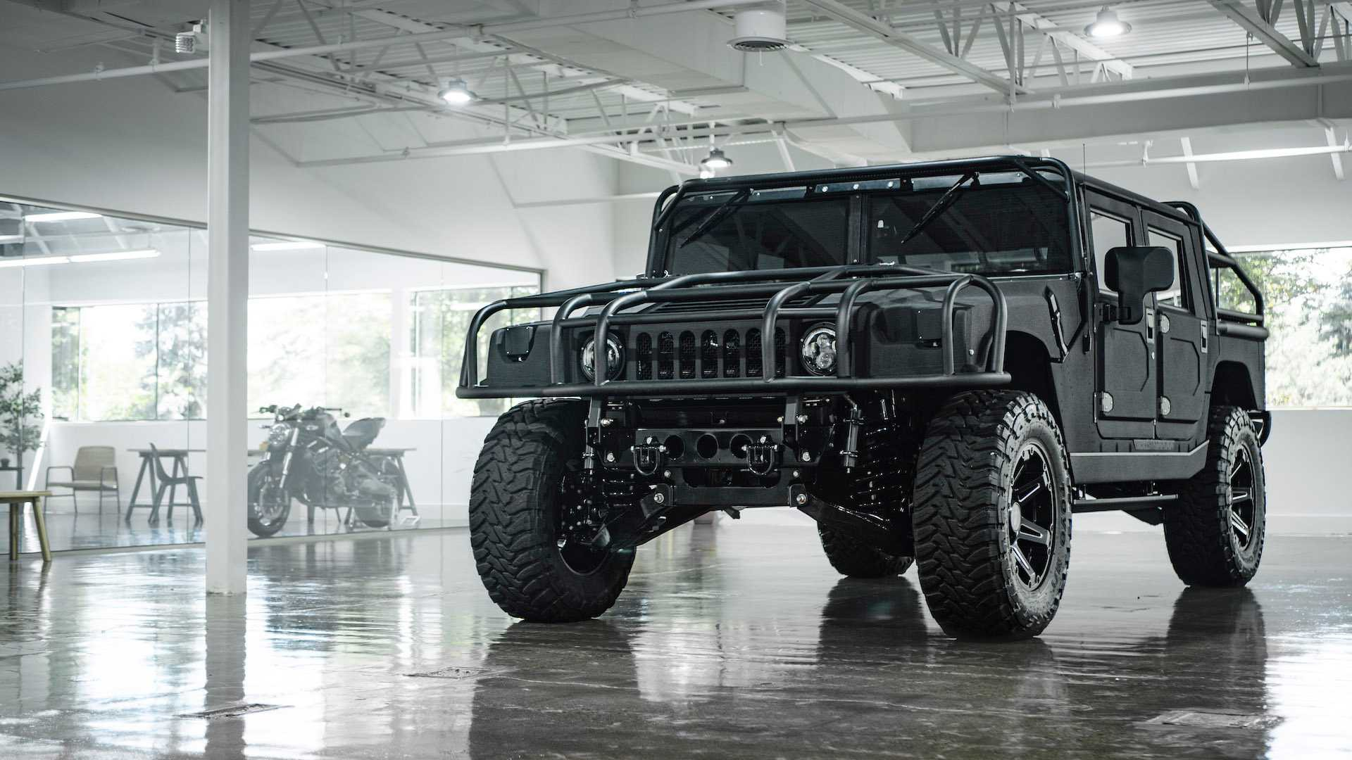 mil spec hummer h1 with 1 000 lb ft of torque