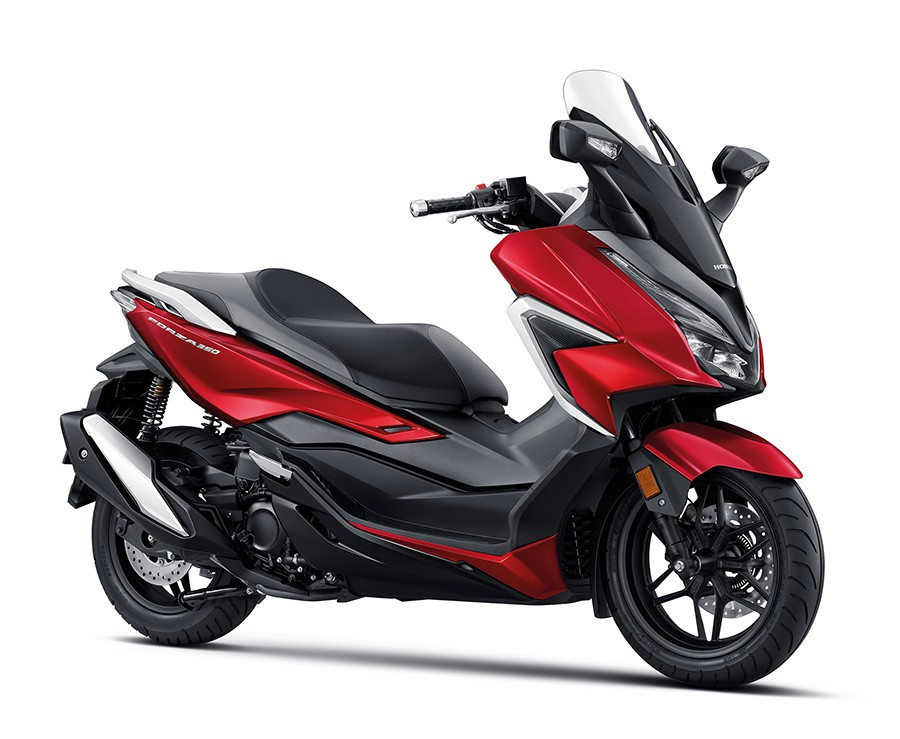 Colorchart Honda forza350 Red
