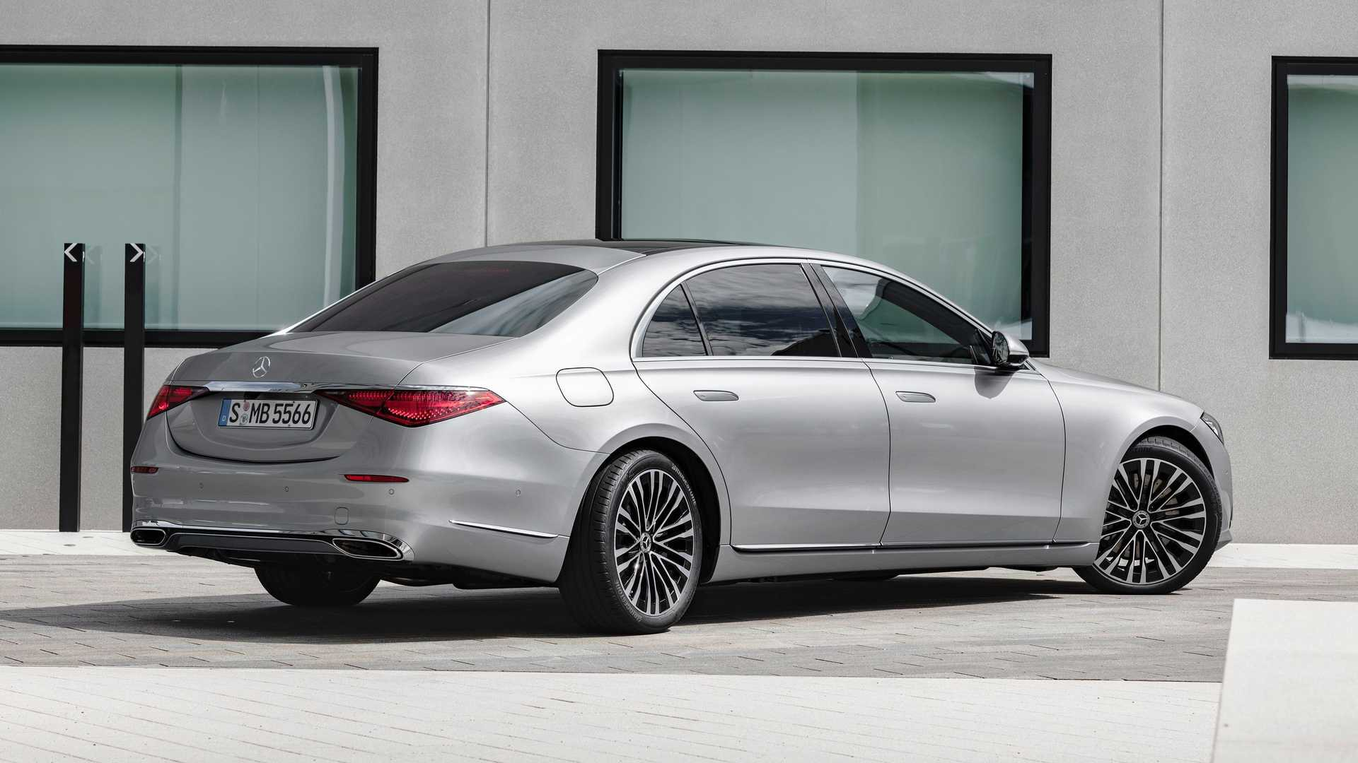 2021 mercedes benz s class sedan exterior (2)
