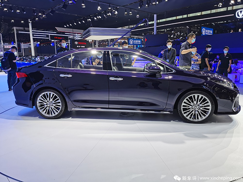 all new toyota allion launch in china 1 009