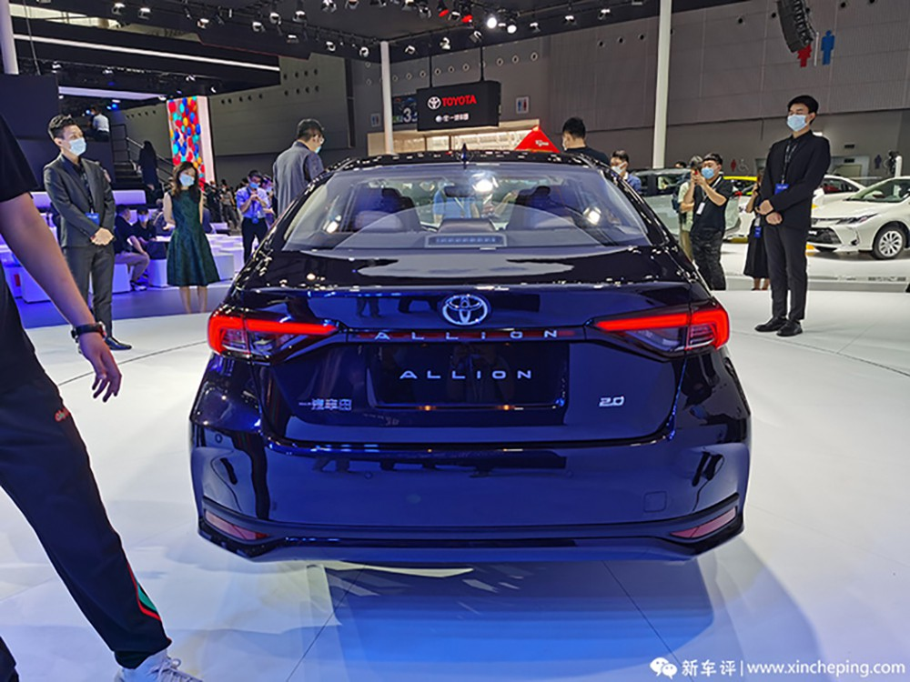 all new toyota allion launch in china 1 010