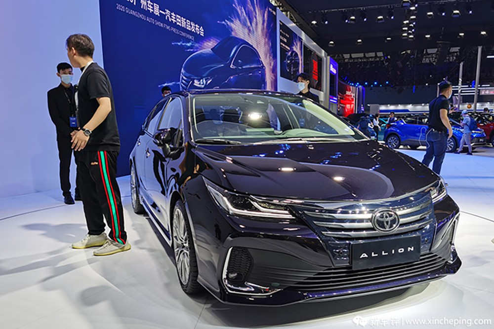 all new toyota allion launch in china 1 003