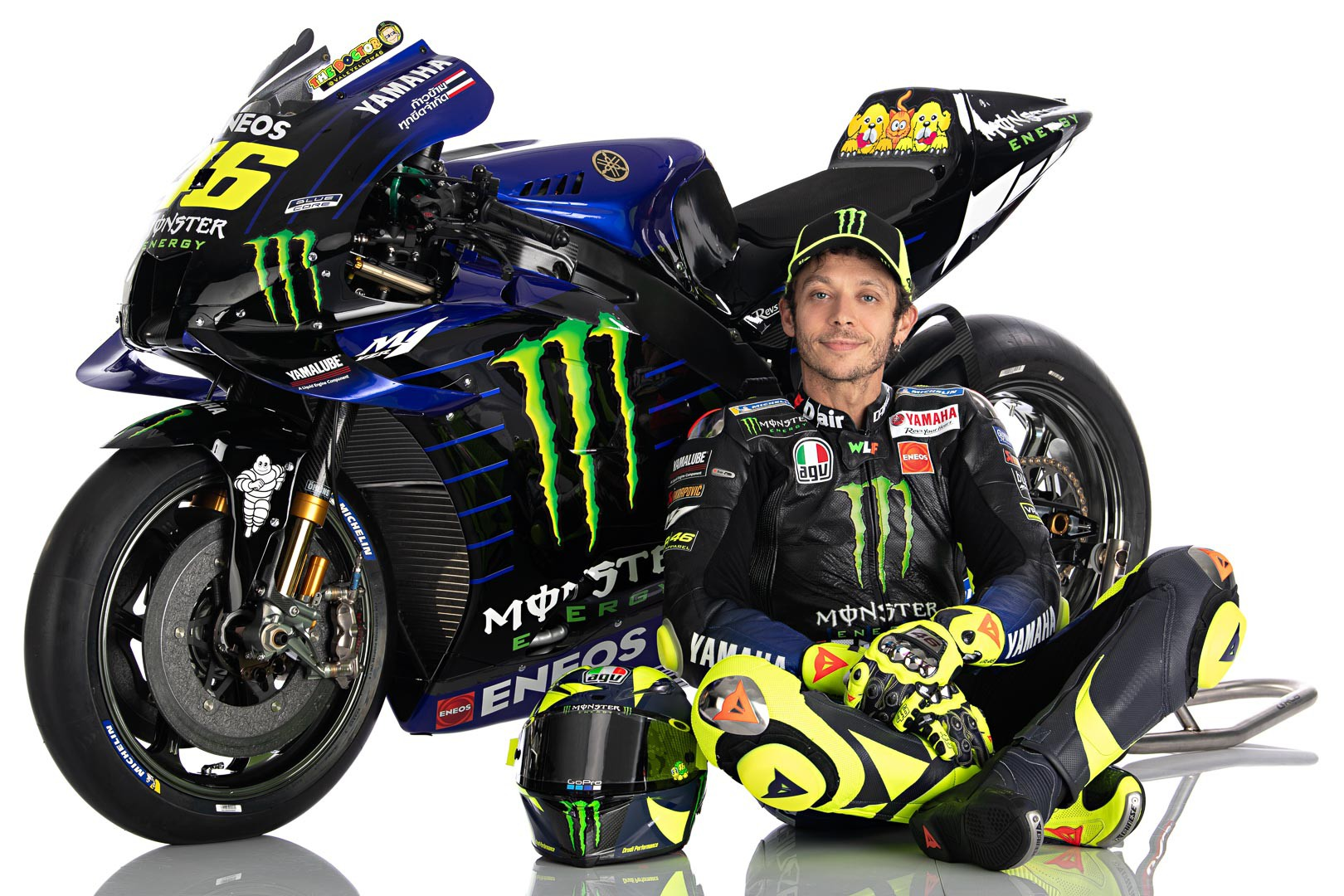 Valentino Rossi 2020 MotoGP Livery First Look Yamaha YZR M1 8