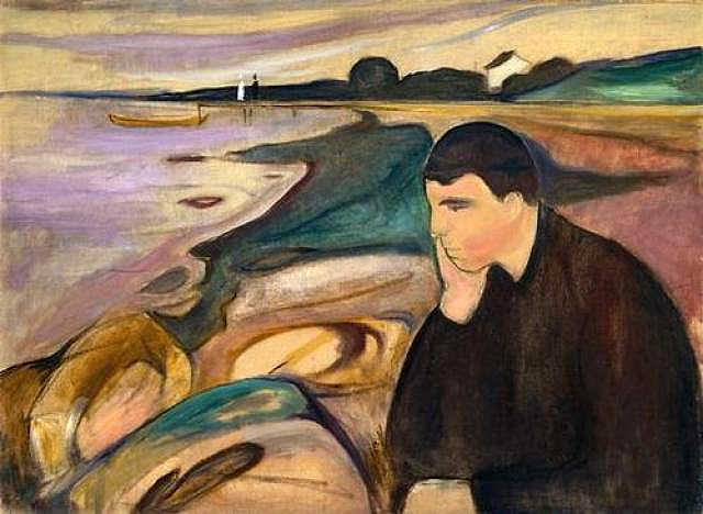 Melancholy by Edward Munch