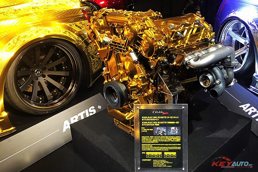 kuhl racing gold nissan gt r offer rm1 7 million 003 3