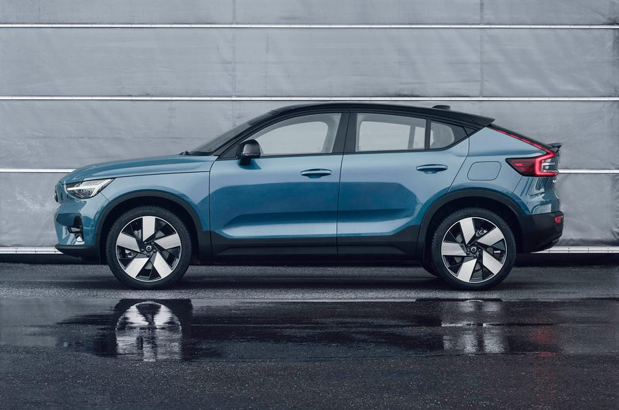 94 volvo c40 recharge 2021 official images static side