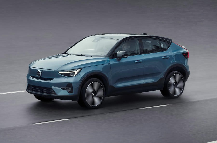 99 volvo c40 recharge 2021 official images hero front