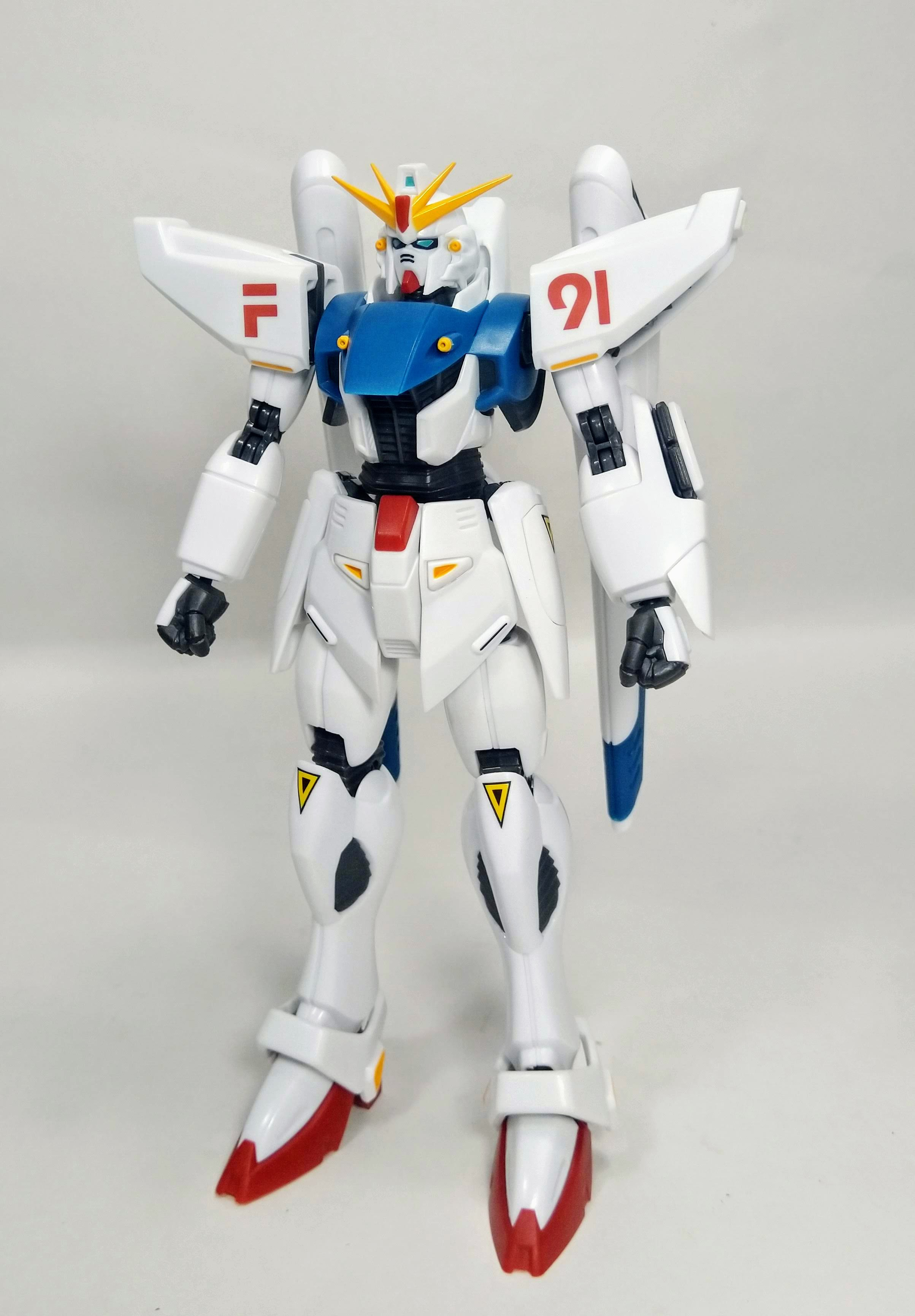 Review Robot Spirits Gundam F91 Evolution Spec